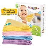 20 x MIKROFASER Baby-Reinigungstücher von Little Gubbins   Packung mit trockenen, unparfümierten...