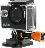 Rollei Action Cam 415 (Full HD Video Funktion 1080p, Unterwassergehäuse für bis zu 40m...
