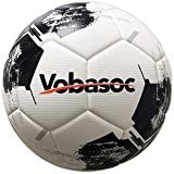 Vobasoc Fussball #5 Trainigsball, Turnierball Standart, Erwachsene, Kinder, Rautenmuster,...