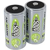 ANSMANN wiederaufladbar LSD Akku Batterie geringe Selbstentladung Mono D 5000mAh maxE NiMH...
