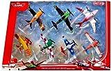 Disney Planes 7-teiliges Flieger Set 'Wings around the Golbe' - Sun -Wing - Jan Kowalski - LJH 86...