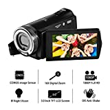 Videokamera Camcorder Kamera FHD 1080P Kamera 16X Digital Zoom 20.0MP videokamera Video Camcorder...