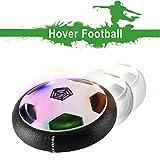 Air Hover Ball Spielzeug Power Soccer mit weichen Schaumstoff Stoßstangen und bunten LED-Leuchten,...