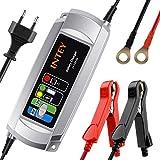 Autobatterie Ladegerät Batterieladegerät INTEY 6/12 V 5A Batterie Ladegerät für Motorrad und KFZ...
