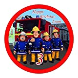 Tortenaufleger Feuerwehrmann Sam