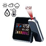 Projektionswecker / Goodshop Projektionswecker mit Temperaturanzeige | Hygrometer / Innentemperatur...