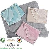 Flauschige Babydecke aus 100% Bio Baumwolle - kuschelige Baumwolldecke hergestellt in DEUTSCHLAND....