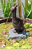 Wasserspeier 'Drache' aus Gusseisen, Höhe 26 cm