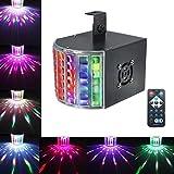SOLMORE LED PAR Licht Disco Lichteffekte PA Licht RGB 3 Modus DMX Controller Projektor Stroboskop...
