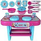 Disney Kinderküche - Kinderspielküche - Kinder Küchenspielzeug - Spielküche klein Frozen