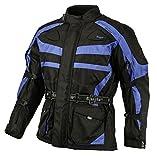 Bangla Kinder Motorradjacke Tourenjacke Textil 1152 Schwarz Blau 176