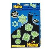 Hama 3414 - Bügelperlen Kleine Geschenkverpackung,  Nachtleuchtend