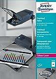 Avery Zweckform 3560 Overhead-Folien (A4, spezialbeschichtet, Sensorstreifen abziehbar) 50 Blatt