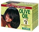 Organic Root Stimulator Olive Oil No-Lye Hair Relaxer Extra Strengh Haarglättungsmittel extra...