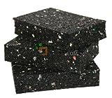 Isopat, Terracon, Karle und Rubner, Gummiunterlage, 30 stück, 20x60x90 mm