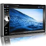 Tristan Auron BT2D7013A Autoradio 6,5'' Touchscreen Bildschirm Navi Europa Bluetooth...