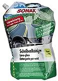 SONAX 386441 Scheibenreiniger Sommer gebrauchsfertig Green Lemon, 3 Liter