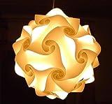 2er Set IQ Puzzle Lampe Grösse M Set 30 Puzzleteile ca. 27cm im Durchmesser