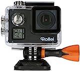Rollei Actioncam 530 - WiFi Action Cam (Actionkamera) mit 4k Video Auflösung, Weitwinkelobjektiv,...