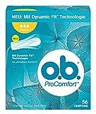o.b. ProComfort Normal Tampons mit Dynamic Fit Technologie und SilkTouch Oberfläche, Für...