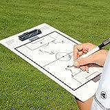 Taktik-Klemmbrett für die Spielanalyse auf dem Platz