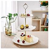 Etagere, Malacasa, Serie Sweet.Time, 6/8/10,5 Zoll Dessert Display, Cupcake Ständer, Porzellan...