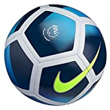 Nike Premier League Pitch Fußball, Obsidian/Royal Blue/White/Volt, 5