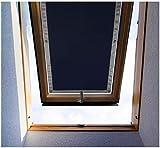Purovi Thermo Sonnenschutz für Dachfenster | Hitzeschutz für Innen | ohne Bohren ohne kleben |...