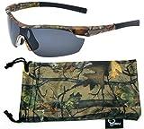 Hornz Forrest braun Camouflage polarisierten Sonnenbrillen für Männer um Sport Rahmen & freie...