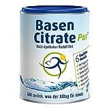 MADENA BasenCitrate Pur | Basenpulver 216g Dose | Das Original mit 100% organischen Basen VEGAN |...