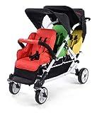 familidoo leicht Kinderwagen, 3-Sitzer