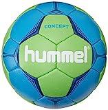 Hummel Erwachsene Handball CONCEPT, Neon Blue/Neon Green, 3, 91-788-7754