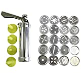 HUAFA 20 Scheiben & 4 Düsen Silikon Cookie Press Pumpe Maschine Keks- und Zuckerguss Press Set...