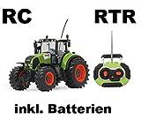 RC ferngesteuerter Traktor Claas Axion 850 Maßstab 1:16 passend zu den Bruder Anhänger - NEUHEIT...