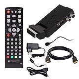DVB-T/T2 SET: Opticum HD AX Lion Air 2 HEVC DVB-T/T2 Receiver + HDMI Kabel mit Ethernet Funktion und...