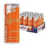 Red Bull Orange Edition Energy Drink mit Orange-Kumquat Geschmack, Einweg, 12er Pack (12 x 250 ml)