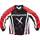 Pharao X Shirt, Jersey Kinder Textil Jersey 1.0 rot XS, Cross/Offroad, Sommer