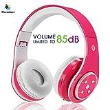 Kabellose Bluetooth Faltbare Kopfhörer für Kinder Jugendliche Leicht tragbare Headset mit Mikrofon...