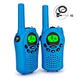 Debonice Walkie Talkies walki talki kinder und Outdoor-Reisen LC-Display VOX 8 Kanäle Taschenlampe...