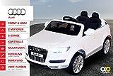 Kinder Elektro Auto Lizenzierter Audi Q7 Lizenziert 2 x 45 Watt Motor Original Kinderelektroauto...