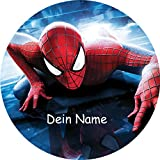 Tortenaufleger Spiderman 3 Ø 20 cm mit Namenseinblendung