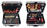 Projahn Elektro Werkzeugkoffer, 128-teilig bestückt, hochwertige und kompakte Werkzeugbox für den...