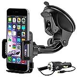 MidGard universal KFZ Handy Halterung Halter Auto für iPhone 5 / 5S / SE / 6 / 6 Plus / 6S / 6S...