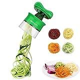 Spiralschneider Hand für Gemüsespaghetti, Sedhoom Gemüsehobel für Karotte, Gurke,...