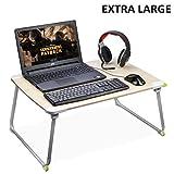 [EXTRA GROß] Klappbar Laptoptisch,Betttisch Laptop, Kind Frühstücken Tablett, Tragbarer...