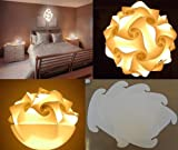 Puzzle Lampe Hängelampe LAMPADA ROMANTICA Größe XXXL bis 70 cm Durchmesser - 30 Teile 43 x 33 cm...