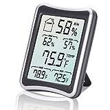 Digitales Thermo-Hygrometer, E2Buy® Großer LCD Bildschirm Digital Thermometer, Digitaler...