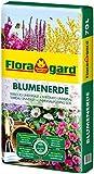 Floragard Blumenerde 70 Liter - verbesserte Rezeptur - Universalerde für Zimmer-, Balkon- und...