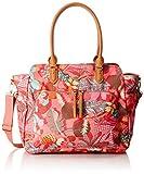Oilily Damen Carry All Schultertasche, Pink (Pink Flamingo), 15 x 34 x 41 cm