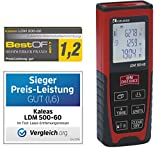 Kaleas Profi-Laser-Entfernungsmesser LDM 500-60 für Entfernung bis 60m [Genauigkeit ±1.5mm]...